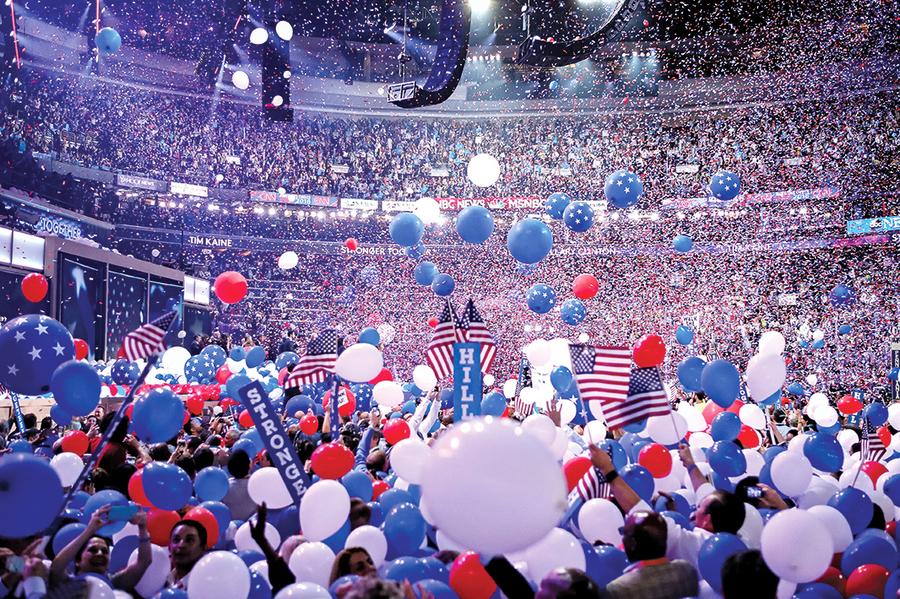 2020民主黨總統初選混戰 兩大陣營 八人競爭