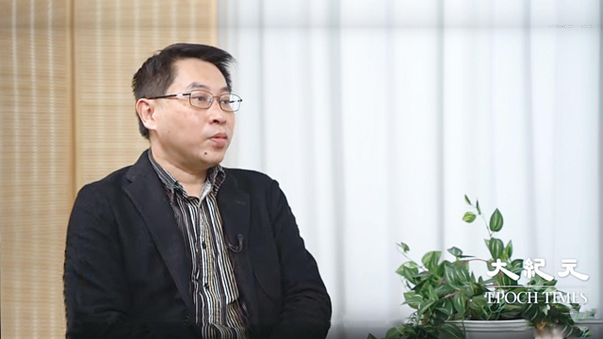 香港中文大學公共政策研究所副主任及政治與行政學系副教授黃偉豪表示,反送中運動令中共權威掃地,武漢肺炎疫情衝擊中共體制的不合法性。(影片截圖)