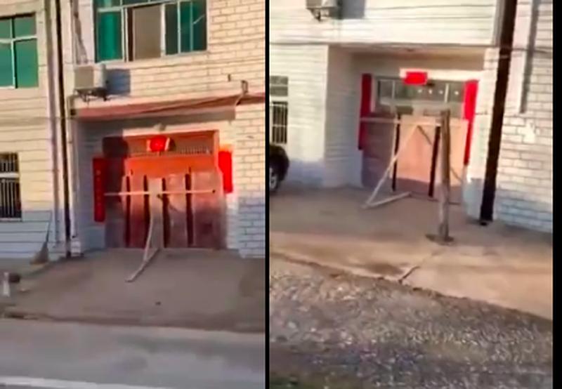 影片:孝感一街道民宅被封 百步亭消毒很敷衍