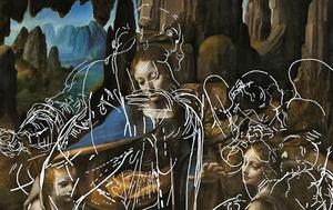 新技術揭示《巖間聖母》畫布下隱藏的人像