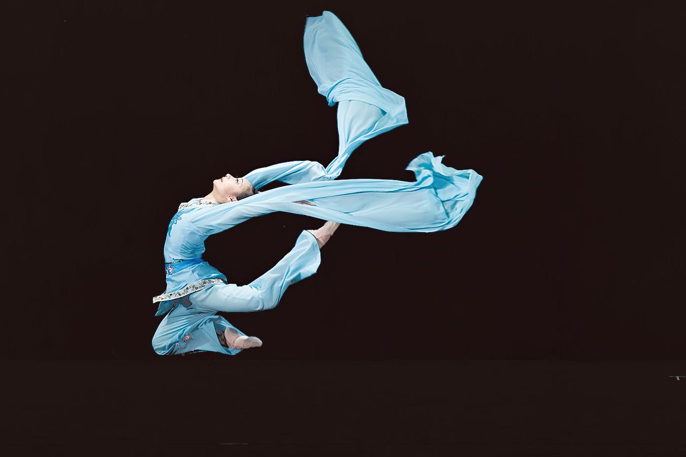 新唐人電視台中國古典舞大賽(大紀元資料圖片)