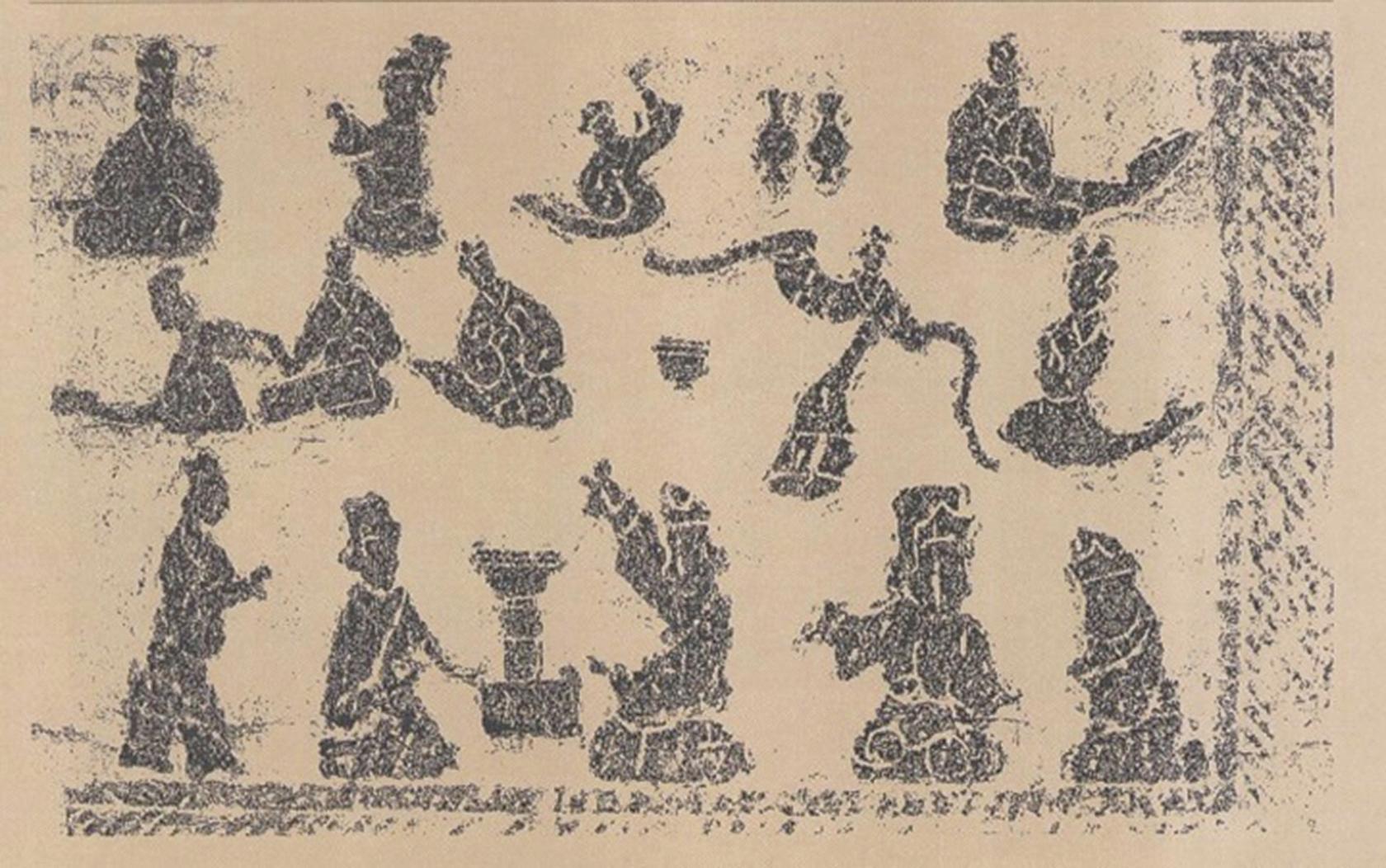 漢‧樂舞畫像石(公有領域)