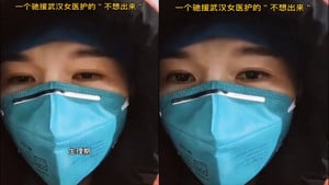 武漢女護士:生理期褲子濕透,不捨得換防護服