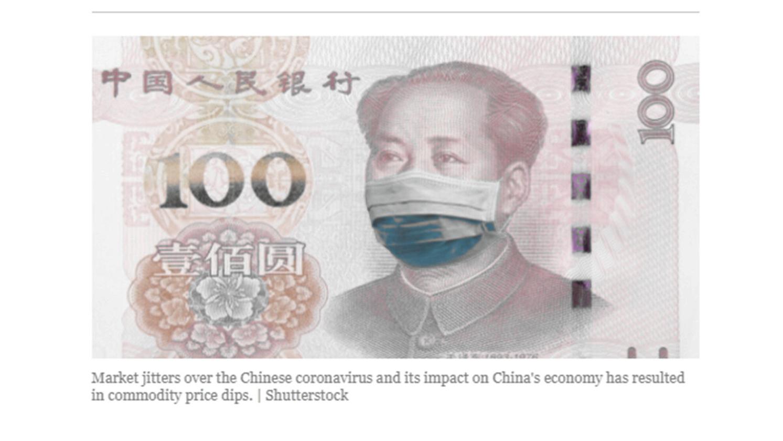 央行以防疫為名印發近6千億元人民幣新鈔,宣稱舊鈔成為病毒傳染媒介。(網絡截圖)