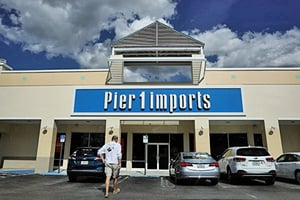 家居用品零售商Pier 1申請破產保護