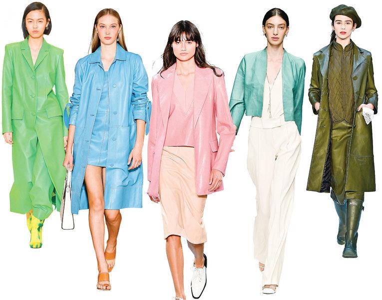 今年哪些皮革單品最時尚?