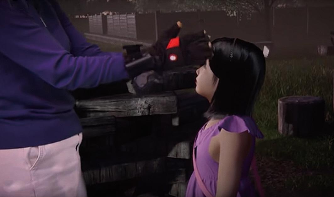 在虛擬現實中和已經去世的女兒再次見面
