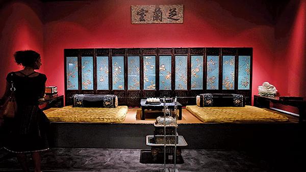 相傳明朝皇宮有一密室,是明朝開國皇帝朱元璋的國師劉伯溫所設,守衛森嚴。圖為故宮圖片。(LOUISA GOULIAMAKI/AFP/Getty Images)