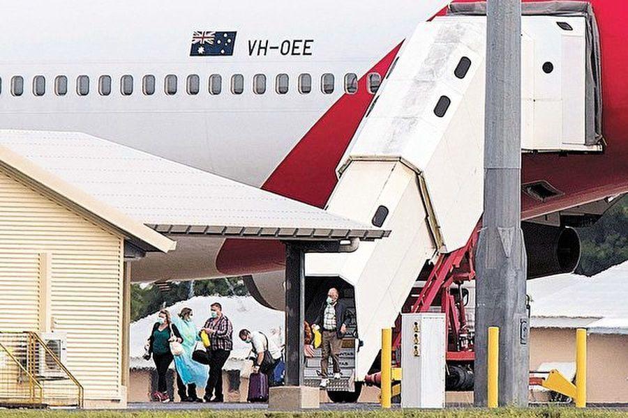 鑽石公主號返澳洲者 兩人染疫 六人不適