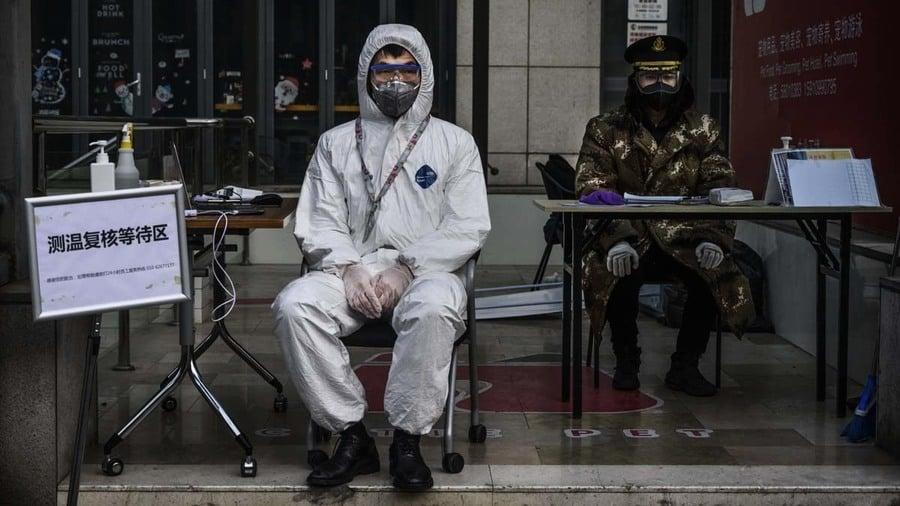 北京疫情危急 小湯山醫院擴建24小時施工
