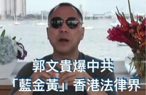 郭文貴爆料:中共以「藍金黃」手法統戰