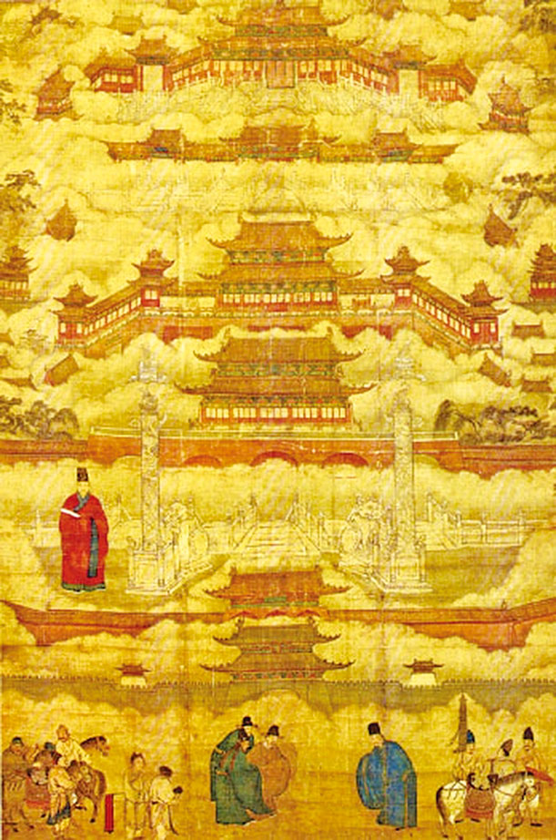 一朝天子、一朝民眾、一朝文化、一朝服飾、一朝風土人情、一朝特點內涵,才使得中國傳統王朝如此輝煌!圖為明朝中期所繪的《帝都圖卷》。(維基百科/公有領域)
