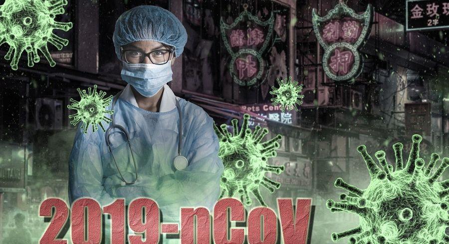 中共病毒(CCP Virus,俗稱COVID-19病毒)疫情2019年12月初率先在中國武漢市爆發後,迅速擴散到全國各省並在全球範圍內蔓延。(Image by-freakwave-from Pixabay)