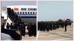 重慶大批警察支援武漢 引發網絡熱議