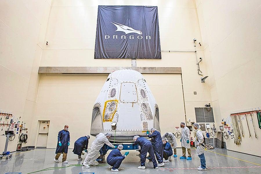 SpaceX將送私人進太空旅遊 最快2021年開始