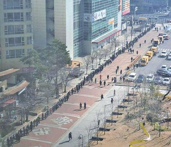 香港口罩荒  南韓大邱上演