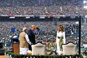 印度熱烈歡迎特朗普