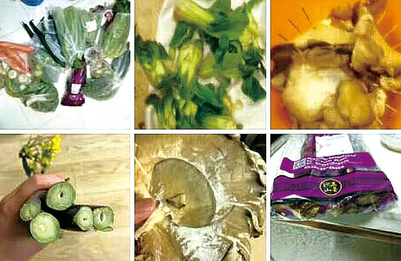 2月25日起,武漢小區居民必須統一團購生活用品,市民表示,團購菜品質不好,菜價高。(網絡圖片)