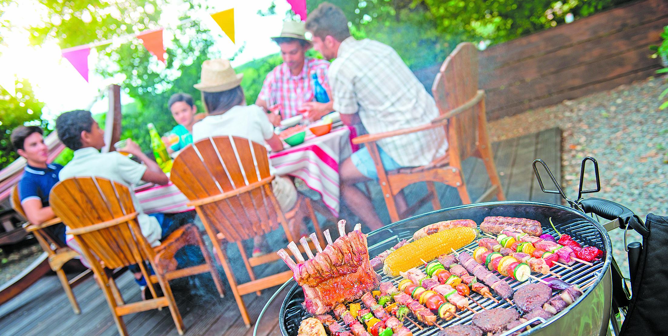 烤肉聚會,是令人愉快的美食活動。