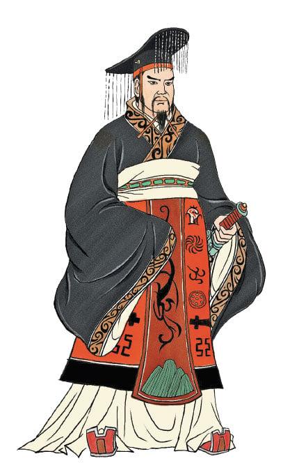 漢高祖劉邦,是中國第一位有廟號及諡號的皇帝。