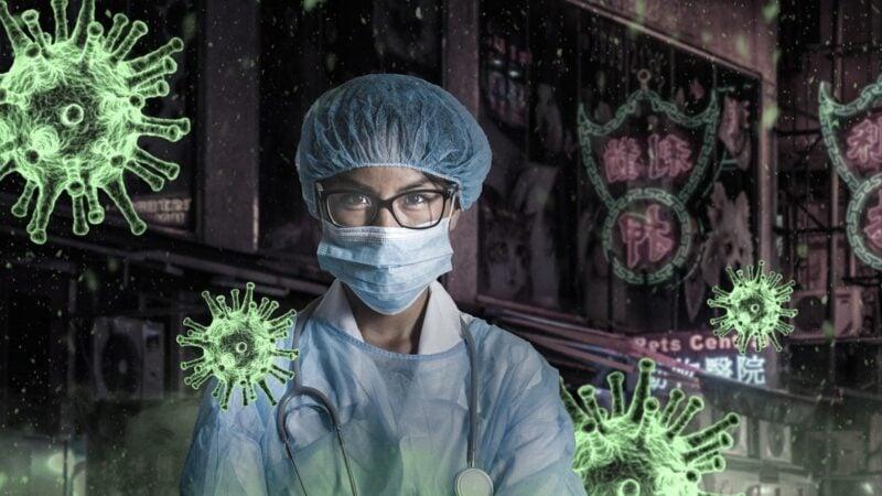 醫學研究發現,中共病毒會導致患者出現神經系統受損症狀。示意圖。(Image by _freakwave_ from Pixabay)