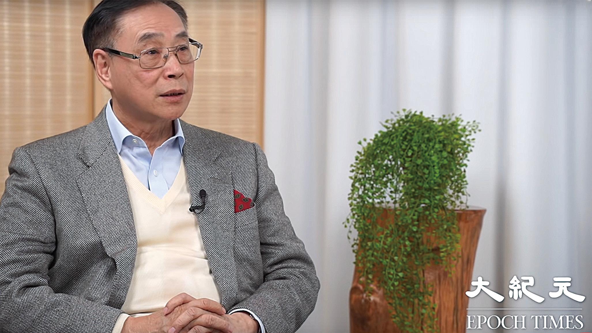 前立法局議員薛浩然。(影片截圖)