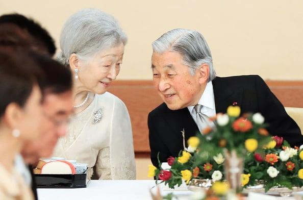 2月23日,日本太上王持續發燒,臨時取消出席日王生日慶典。(Getty Images)