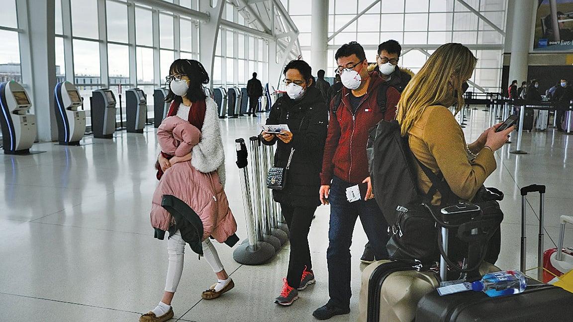 美國紐約肯尼迪國際機場。(Getty Images)