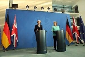 文翠珊盼同步談判脫歐與雙方未來關係遭拒