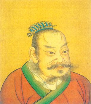 項羽,西楚霸王。 (公有領域)