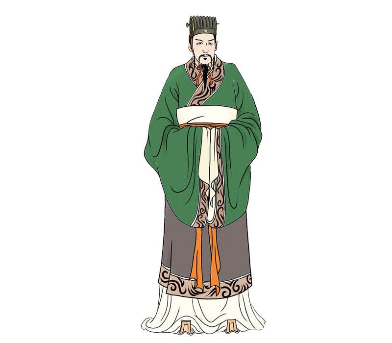 劉敬,本名婁敬,建議劉邦建都關中。劉邦採納了他的建議,並賜他姓劉。