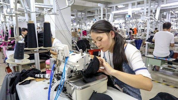 中國製造業活動嚴重萎縮。示意圖。(STR/AFP/Getty Images)