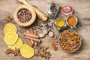 提升免疫力的六種天然食物香料