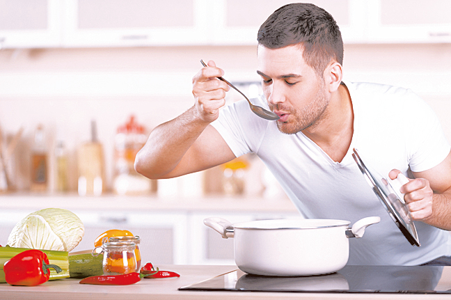 周末最適合進行一次大量烹煮備餐。