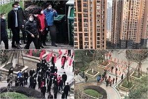 孫春蘭視察武漢小區 居民怒吼:全是假的
