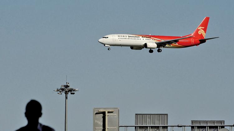 █3月5日,從廣州、深圳飛往北京、上海、杭州等航班大量取消。外界猜測,可能出大事了。(GettyImages)