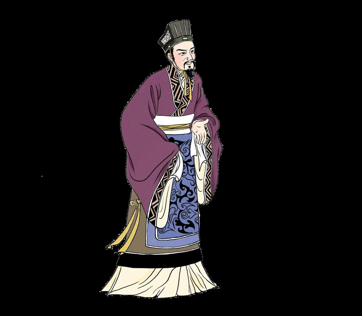 ▲ 陸賈,西漢初期的政治家、文學家、思想家。