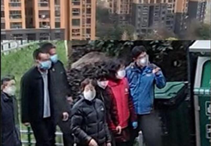 副總理孫春蘭武漢視察 怒吼小區的居民爆更多內幕