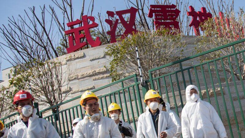 作者山河清揭露中共武漢疫情防控中的八大騙術。示意圖( STR/AFP via Getty Images)