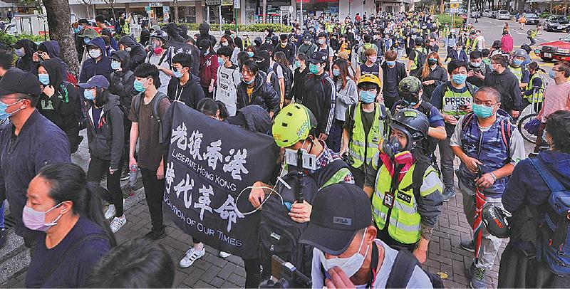 市民大埔反指定診所 警方施放胡椒噴霧拘捕多人