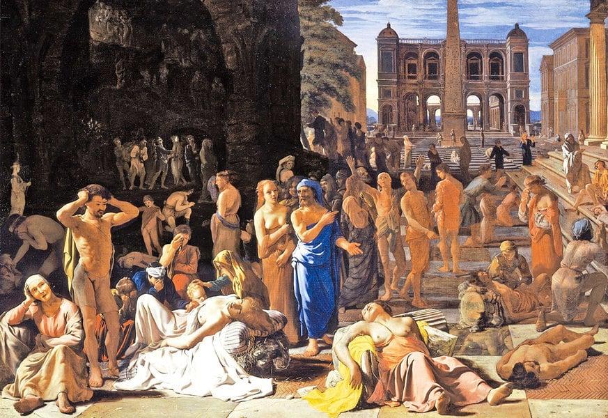 歷史上的瘟疫 被瘟疫摧毀的強大雅典