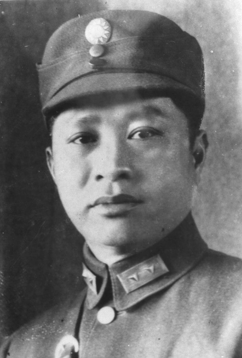 死於被毛澤東和周恩來製造的空難的葉挺。(網絡圖片)