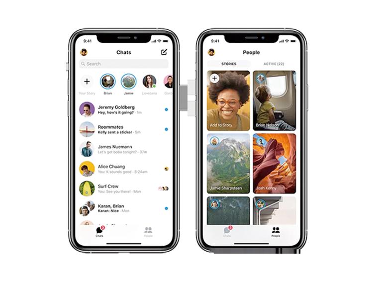 Facebook重新設計的Messenger已經上線可以更新了,變得簡練更快捷了。(Facebook)