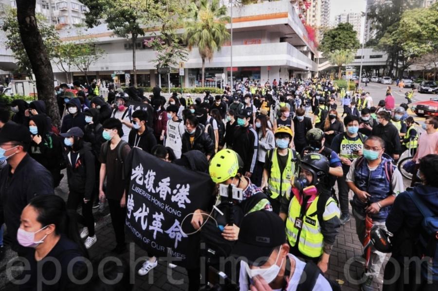集會遊行反對肺炎指定診所 警方周日大埔拘23人