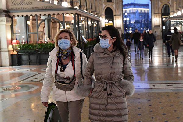 武漢疫情全球肆虐,義大利成為中國以外疫情最嚴重的國家。意大利總理孔蒂(Giuseppe Conte)頒布政令,10日起實施全國封鎖,時間到4月3日為止。 (MIGUEL MEDINA/AFP via Getty Images)