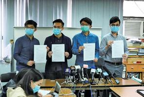 眾志等近百團體聯署 促美調查香港警暴