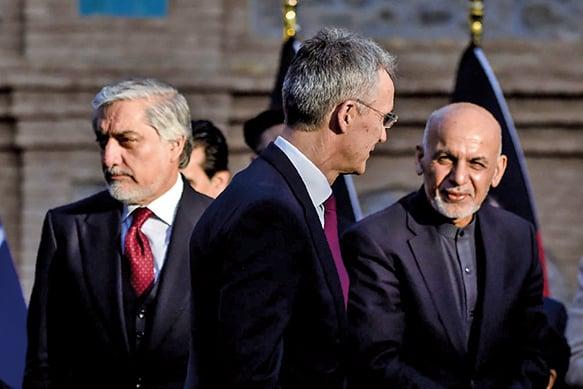 阿富汗政壇分裂  兩個總統宣佈就任