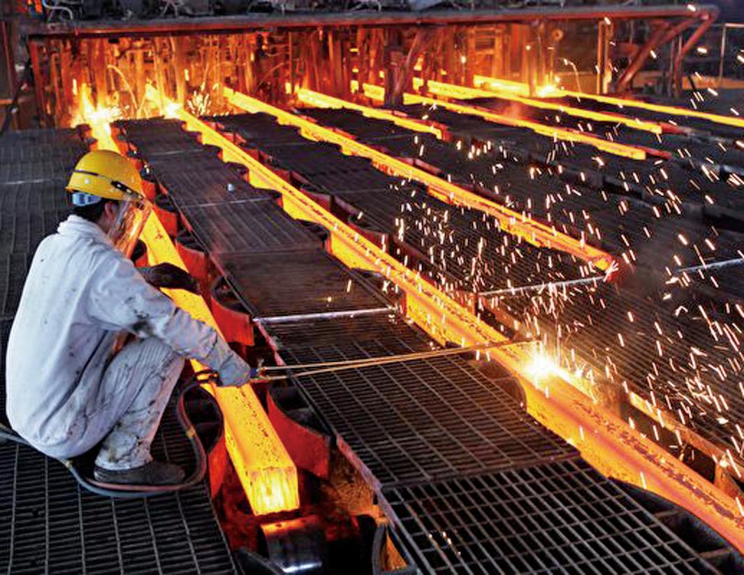 G7將採取措施解決全球鋼鐵過剩問題,許多人將這個問題歸咎於中國鋼廠產能過剩。 (Getty Images)