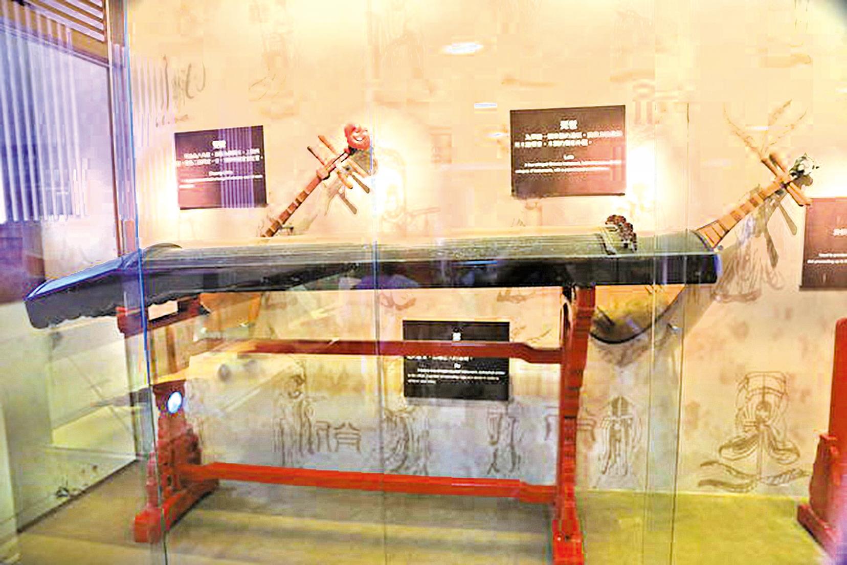樂器瑟,台南市孔廟文物收藏。( Zeze0729 /Wikimedia Commons)