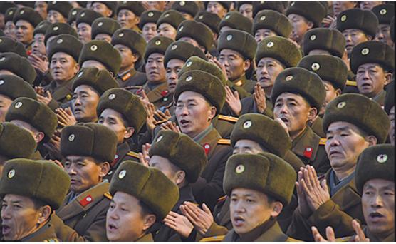 北韓軍隊(AFP)
